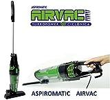 Aspirapolvere 2in 1con tecnologia ciclonica aspirapolvere di mano e scopa Aspiromatic Airvac