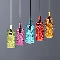 Lampadari Fatti Con Bottiglie Di Vetro.Bottiglie Lampadario Illuminazione Per Interni Amazon It