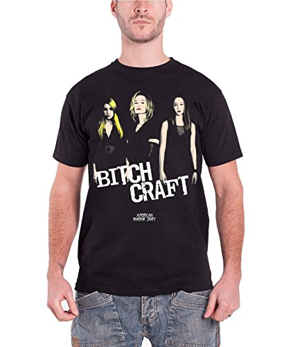 American Horror Story Bitch Craft offiziell Herren Nue Schwarz T Shirt (American Horror Story Coven)