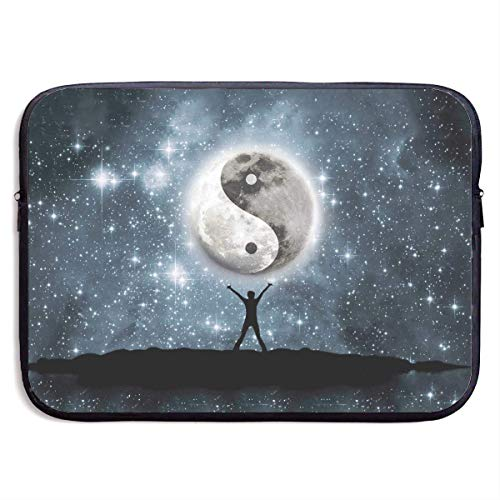 Yin Yang Two Wings of One Bird Best Laptop Bags for Men and Women Dustproof Laptop Sleeve Fits 13/15 Inch Laptop, Computer, Tablet,13 inch One Xl Carry Case