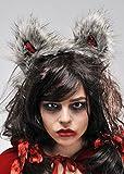 Red Riding Hood orejas de lobo gris