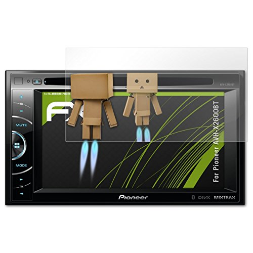 atFoliX Protettore Schermo per Pioneer AVH-X2600BT Pellicola a specchio, effetto specchio FX Specchio Pellicola protettiva