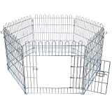 EUGAD 0196HT Parc enclos pour Chiens Parc pour bébé Puppy Fence Parc Chien Animal 60x63cm