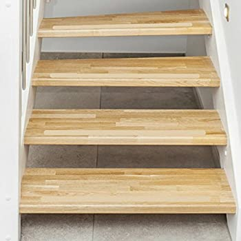 Exceptionnel Non Slip Stair Clear Discreet Safety Grip Strips   Perfect For Stairs Step  Laminate Wooden Floor