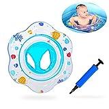 Attiant Baby Nuoto Anello, Gonfiabile Galleggiante per Piscina per Bambini con Sedile Ideale per Bambini Piscina per Bambini, Galleggiante per Baby Ring Adatto per l'allenamento del Bambino