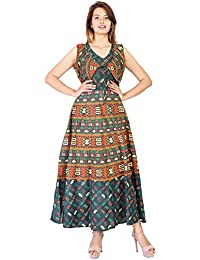 PURE COMFORT Women's Party Wear Kurti, Long Kurtis For Women/Girls, Kurtis, Cotton Kurtis, Kurtis With Embroidery...