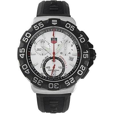 TAG Heuer CAH1111.BT0714 - Reloj de pulsera hombre, caucho, color negro