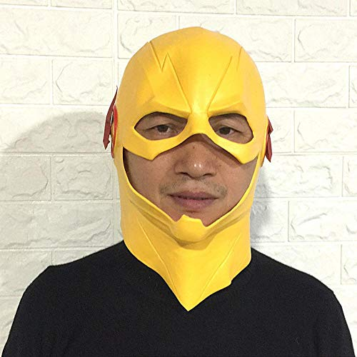 (Littlefairy Masken für Erwachsene,Flash-Maske Perücke Kostüm Abschlussball Latex Kopfschmuck Leistung Requisiten)