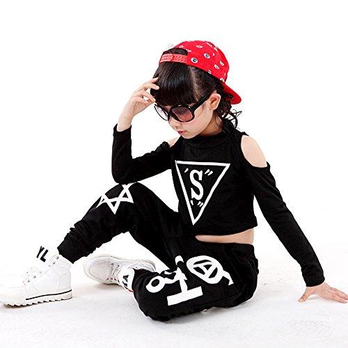 volesenitm Mädchen Kinder modernen Jazz Hip-Hop Dancewear Kids -