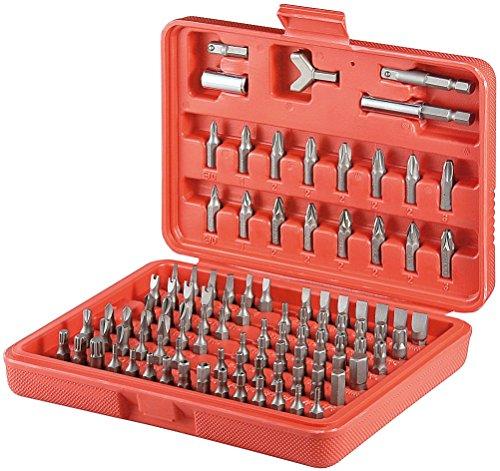 Preisvergleich Produktbild Fixpoint Bit-Satz 100-teilig aus hochwertigem S2 Werkzeugstahl in Koffer