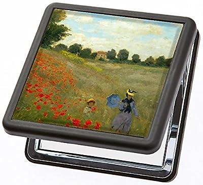 Taschenspiegel Monet - Mohnblume von Artis Vivendi