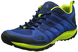 THE NORTH FACE Herren M Litewave Explore Trekking- & Wanderhalbschuhe Blau (GNP-Blue Quartz/Lantern Green) 43 EU