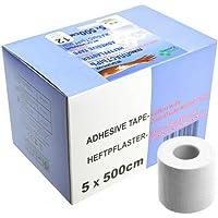 SFM Zink-Oxid Heftpflaster mit Plastikkern in Box, 5cm x 5.0m,(12 St.) preisvergleich bei billige-tabletten.eu