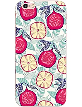 Funda iPhone 6/6s 4,7 pulgadas, Teryei® Carcasa semi-transparentes Case Cover Silicona Suave Funda para Apple...