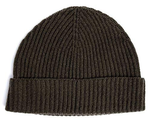 Wollmütze, luxuriös, schottisch, 100%, für Angler Gr. Einheitsgröße, Kelp