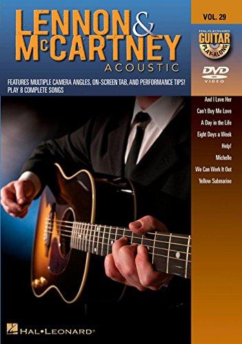 Guitar Play-Along DVD Volume 29: Lennon & McCartney Acoustic