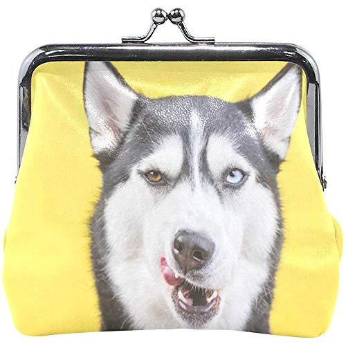 Verschleißfeste Geldbörse Vintage Dackel Puppy Dog Womens Wallet Clutch Bag Mädchen kleine Geldbörse -