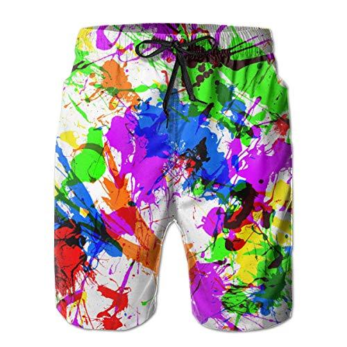 Nisdsh Classic-Fit Boys Big &Tall Cargo Short Board Shorts for Beach Gym Surf Large - Gap Kids Classic Shorts