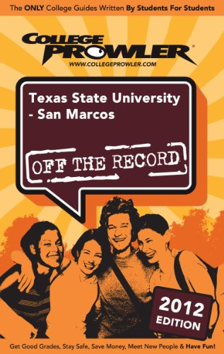 Texas State University - San Marcos 2012 (English Edition)
