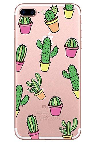 blitzversand Handyhülle Kaktus WÜSTE MEXIKO kompatibel für iPhone 5 C Kaktus Pink Schutz Hülle Case Bumper transparent M8