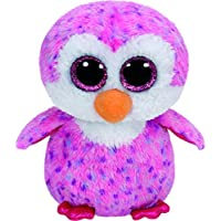 Ty - Beanie Boos Glider, pingüino, 15 cm, Color Rosa (United Labels