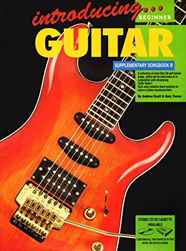 Introducing Guitar Supplementary Songbook B Bk/CD