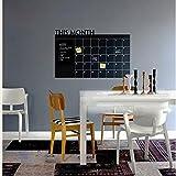 Theshy Stickers Muraux Mois Plan Calendrier Ardoise Tableau Noir Vinyle Wall Sticker...
