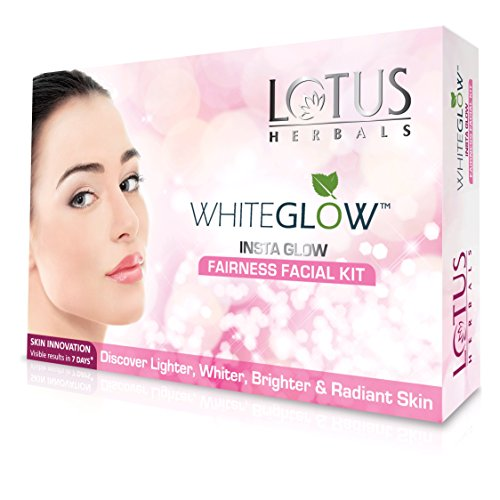 Lotus Herbals White Glow Insta Glow Fairness 1 Facial Kit, 40g