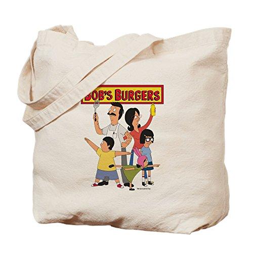 Burger Hero Familie-Leinwand Natur Tasche, Reinigungstuch Einkaufstasche S khaki ()