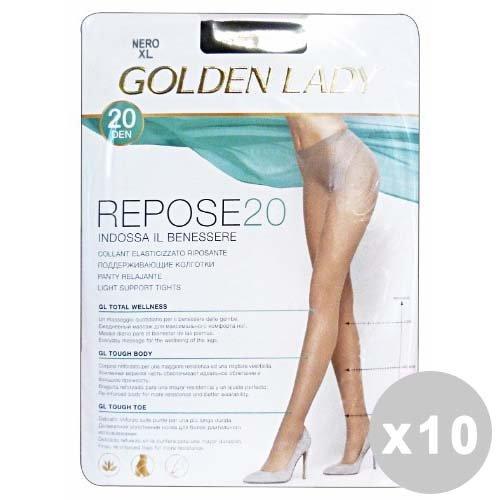 Golden Lady Repose Set 10Golden Lady Repose Strumpfhose 20den Melon Größe IV 36F