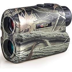 Télémètre Laser Multi-Fonctions de Chasse BIJIAT 650m pour la Chasse à l'arc et aux flèches, Le tir, Le Golf 。