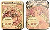 Chocolate Amatller - Hojas Finas en caja metal (Chocolate con Leche) - 2 cajas de 60 gr. (Total 120 gr.)