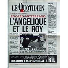 QUOTIDIEN DE PARIS (LE) [No 2544] du 26/01/1988 - UN COP DE FILET DE LA D.S.T. - CREDIT LYONNAIS - J.M. LEVEQUE - THEATRE POLANSKI - KAFKA - SPORT - GOLF - ROCARD- MITTERRAND - MIREILLE MATHIEU ET B. CHIRAC AU DEFILE DE MODE.
