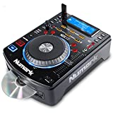 Numark NDX500 - Controlador DJ y reproductor MP3, CD autónomo con platos sensibles al tacto y software para DJ