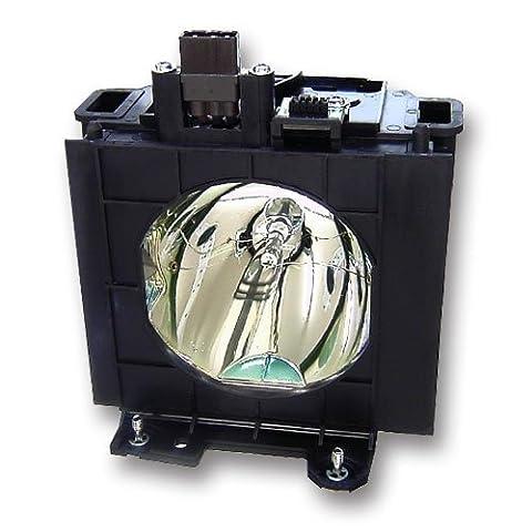 Lampe de remplacement ET-LAD40 pour Panasonic PT-D4000E PT-D4000U PT-D4000 Projecteurs, Alda PQ® module de lampe avec culot