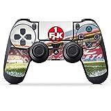 DeinDesign Sony Playstation 4 Controller Folie Skin Sticker aus Vinyl-Folie Aufkleber 1. FC Kaiserslautern Stadion 1. FCK