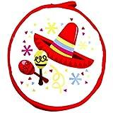 """Calentador de tortillas mexicanas 10,5""""-insulated Tejido bolsa–mantiene caliente durante 1hora (1, Color5)"""