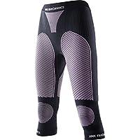 X-Bionic–Camiseta de esquí Touring EVO UW Pants Medium, Mujer, SKI Touring_EVO Lady UW Pants Medium, Negro y Rosa