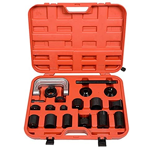 Heredeco New 21 pcs Ball Joint Auto Repair Remover Install Adapter Tool Set Service Kit With 4-Wheel Drive