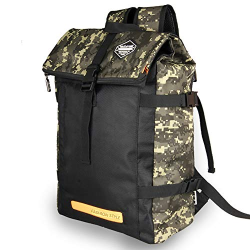 LOCAL LION Rucksack Daypack Laptoprucksack (15.6zoll) für Damen & Herren 25L für Alltag Bibliothek Buchhandlung Uni Einkaufen Wandern Trekking