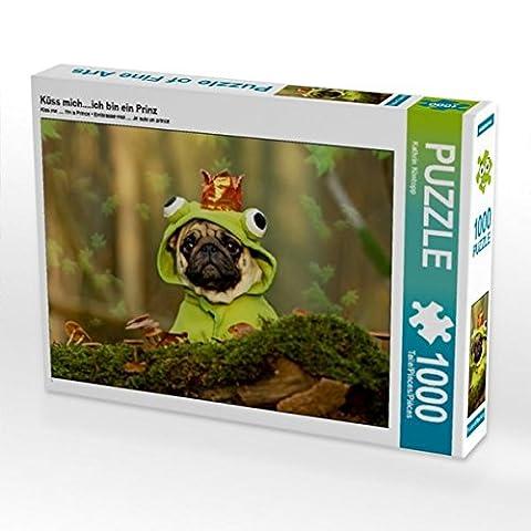 Küss mich....ich bin ein Prinz 1000 Teile Puzzle quer (CALVENDO Tiere)