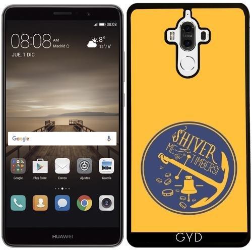 Custodia in silicone per Huawei Mate 9 - Ancora Galleggiante Per Barche Campana by UtArt - Personalizzato Borsa Barche