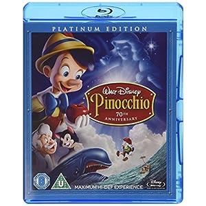 Pinocchio - 3-Disc Platinum Edition [Blu-ray + DVD]