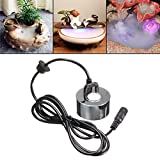 Ultrasonic Mist Maker Water Fountain Pond Atomizer Air Humidifier, DIY Fog Humidifier Parts