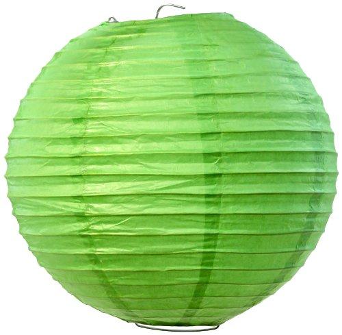 Koyal Großhandel von Papier Laterne, 20,3cm, Kiwi, grün, 6Stück