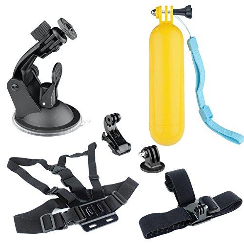 """il prezzo rimane stabile comprare taglia 7 """"Accessori Kit per CAMKONG Action Cam GoPro Hero DBPOWER AKASO VicTsing  APEMAN WiMiUS Victure Elephone Campark Sport Dv """""""