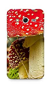 Amez designer printed 3d premium high quality back case cover for Samsung Galaxy Core 2 (Mushroom in fall)