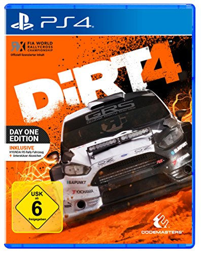 DiRT 4 - Day One Edition mit Steelbook (exkl. bei Amazon.de)