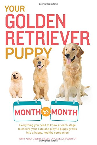 Your Golden Retriever Puppy Month by Month: Everything You Need to Know at Each Stage to Ensure Your Cute & Playful Puppy Gr por Terry Albert