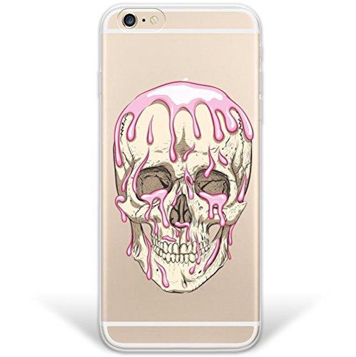 blitzversand Handyhülle Fussball Football kompatibel für iPhone 5 C Scary Dead Schutz Hülle Case Bumper transparent M14 (C Basketball 5 I Phone)